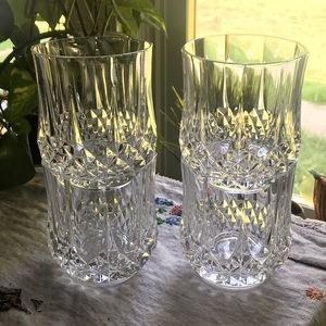 4 VTG Cristal d'Arques French Lead Crystal Glasses